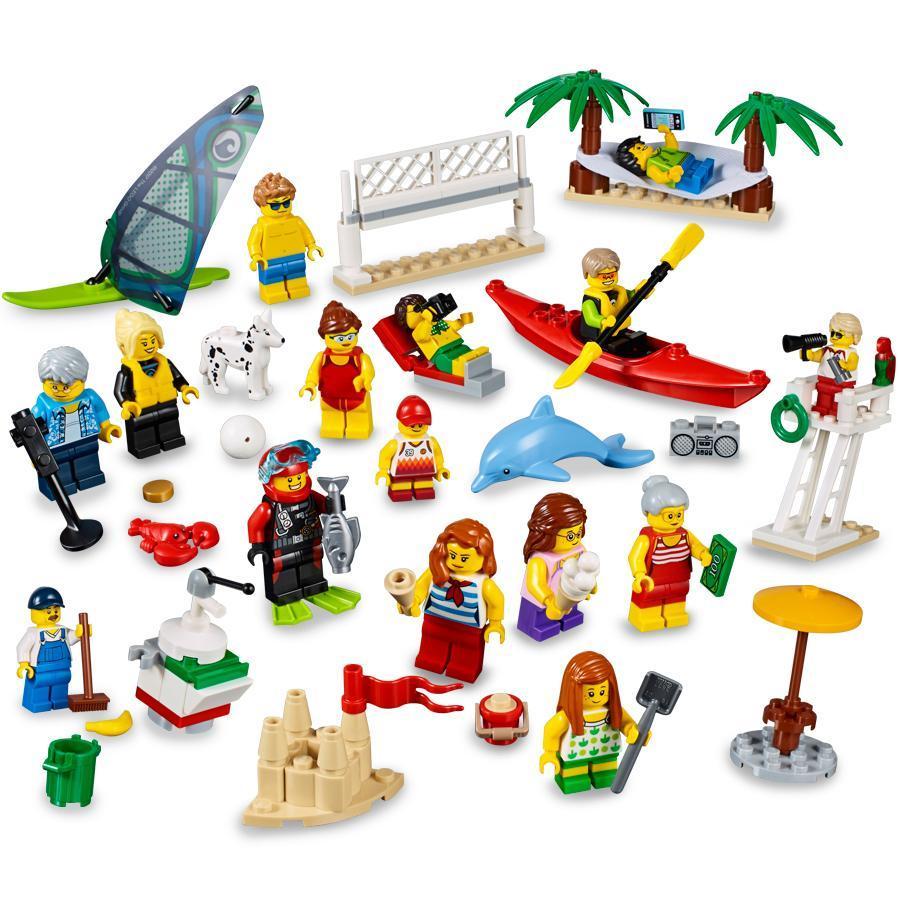 Spielzeug Rund Um Den Neuen Superhelden: Stadtbewohner Ein Tag Am Strand: Amazon