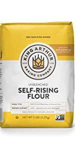 Self Rising Unbleached Flour