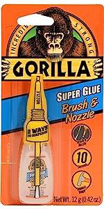 Gorill Super Glue Brush & Nozzle