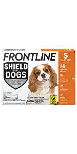 S Frontline Shield For Dogs