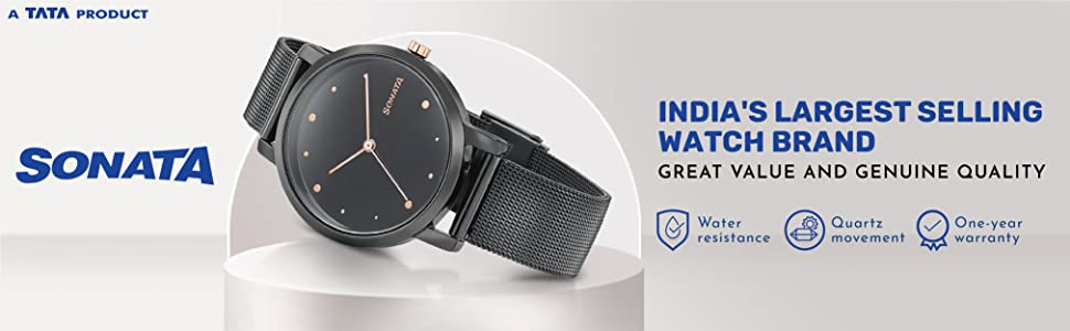 Sonata - India's Largest Selling Watch Brand