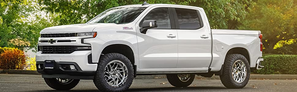 Chevrolet and GM truck lift kits