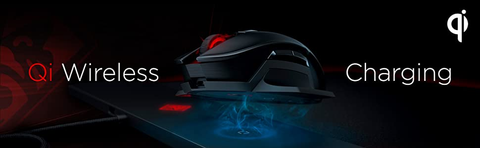 OMEN by HP Photon Wireless Mouse Qi Wireless Charging
