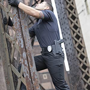 Officer in HLX climbing