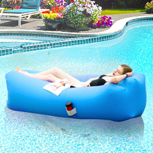 Inflatable Lounger Air Sofa Hammock-Portable,Water Proof& Anti-Air Leaking Design-Ideal Couch