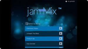 jamMix(セッションや音楽制作)画像 jamstik+ App(コンパニオンアプリ)画像 スマートギター スマートトイ jamstik MIDIコントローラー ギター iPhone Android