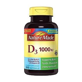 Nature Made D3, 1000 IU