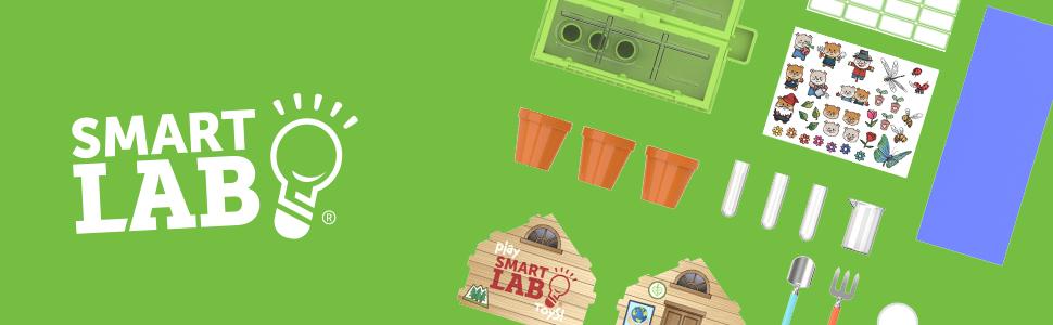 SmartLab Toys, Smart Lab Toys, STEM Toys for Kids, Tiny Gardening, Tiny Baking, Tiny Ice Cream, STEM