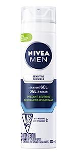sensitive shave gel