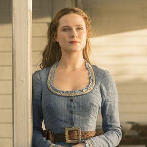 Evan Rachel Wood;Dolores;robot;androide;Westworld;saison 1;HBO;réalité;conscience;Evan;Rachel;Wood