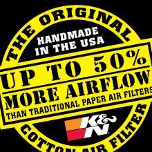 K/&N Filters 33-2982 Replacement Air Filter
