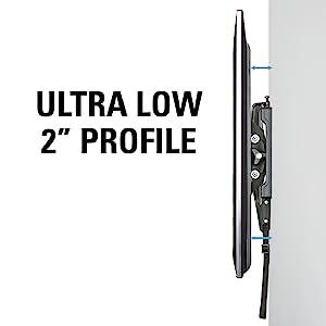 Amazon Com Sanus Low Profile Tilt Wall Mount For 37 80
