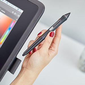 Wacom Cintiq 22 Drawing Tablet with 21 5 inch HD Screen, Graphic Monitor,  8192 Pressure Levels, 1 x