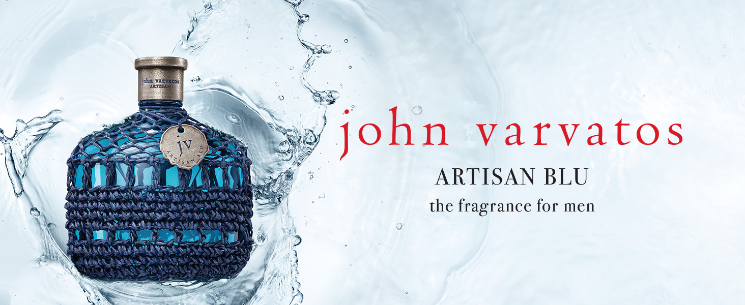 John Varvatos Eau de Toilette Cologne Mens Popular Scent Fragrance Fashion Artisan Blu