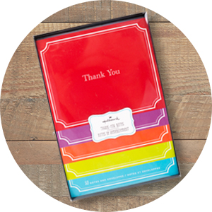 Thank You Cards, Hallmark