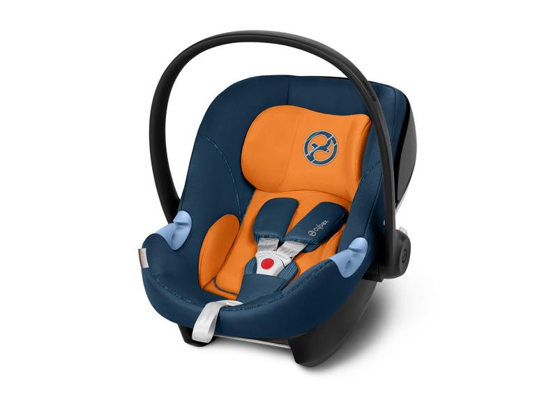 Cybex Gold - Portabebé Aton M, en contra de la marcha, incluye reductor para recién nacido, desde el nacimiento hasta aprox. 18 meses, max. 13 kg, ...