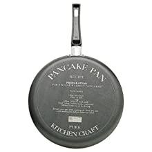 Kitchen Craft Cr/èpe-Pfanne mit Rezeptaufdruck auf Unterseite 24/cm
