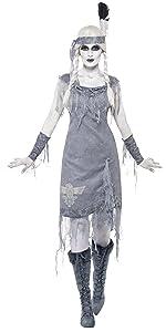 Damen Geisterhafte Indianerprinzessin Kostüm