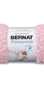 Bernat Pipsqueak Yarn, 3.5 oz, Gauge 5 Bulky, Tickle Me Pink
