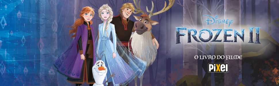 Frozen 2 O Livro Do Filme Livros Na Amazon Com Br