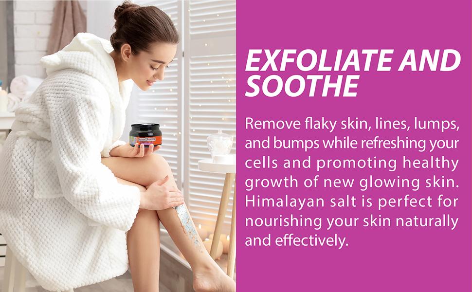 best face exfoliator,salt scrub,best body scrub,himalayan salt scrub,