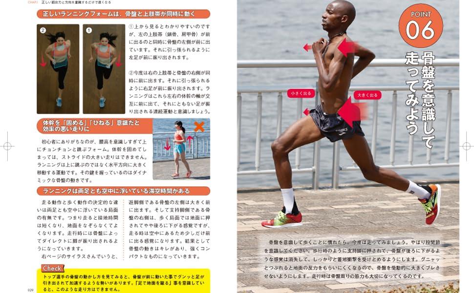みやすのんき マラソンフォーム 06 骨盤を意識して走る