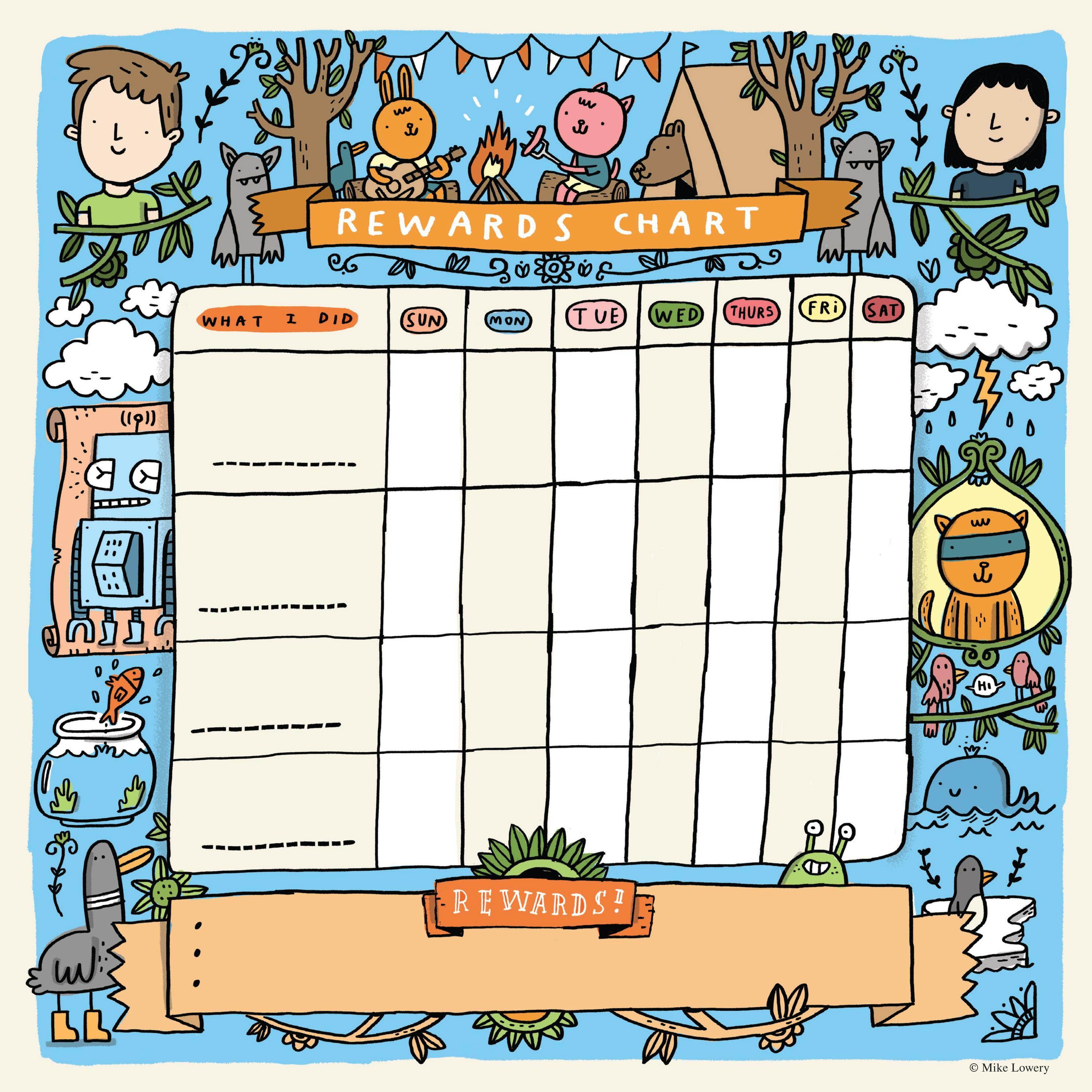 Kids Wall Calendar : The kid s awesome activity wall calendar mike lowery