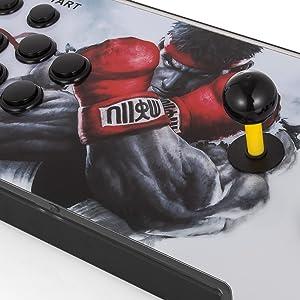 Detalle del mando arcade, juego para 2 jugadores