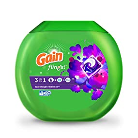 Gain Flings Plus Aroma Boost Laundry Detergent Pods