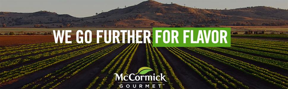 McCormick Gourmet spices herbs seasoning organic
