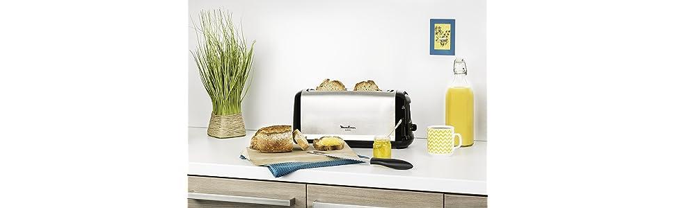 grillepain;toast;pain;petitdéjeuner;tartines;matin;réveil;dorage;décongélation;réchauffage;subito;