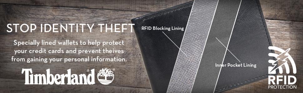 Timberland Banner Image, RFID Blocking Wallets