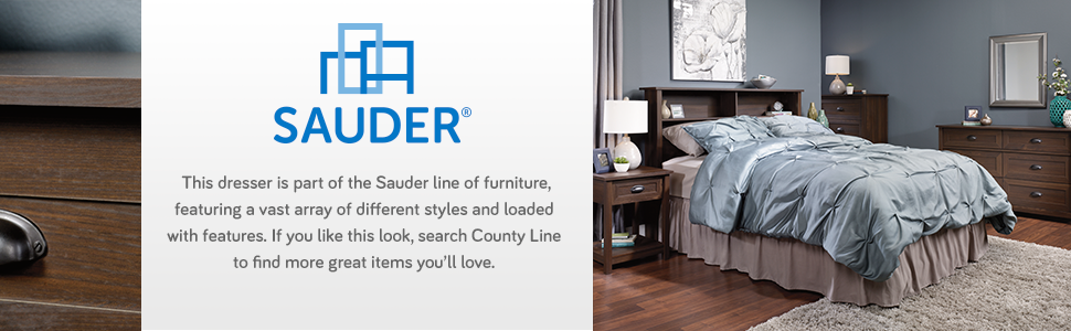 Amazon.com: Cómoda de 6 cajones estilo rústico ...
