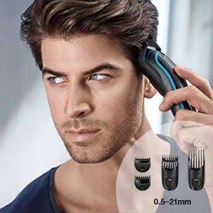 Braun MGK3040 - Set de afeitado multifunción 7 en 1, depiladora ...