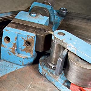 The test strip is wrapped around a 1½-inch diameter mandrel. Monte Swann