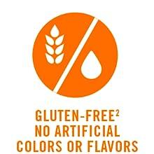 gluten-free artifical flavors colors celiac