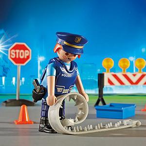 PLAYMOBIL City Action Control de Policía, A partir de 5 años (6924 ...