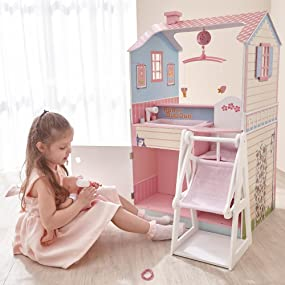 Delightful Kids.toddler.wooden.set.play.playset.toy.girl.