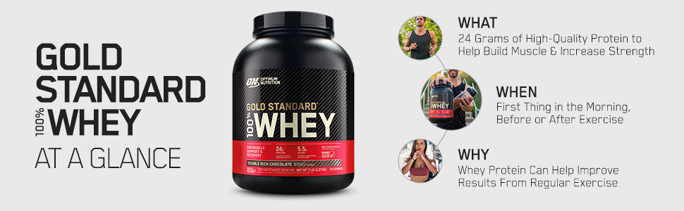 Gold Standard Whey, GSW, Optimum Nutrition, Protein Powder, Exercise, Workout, Pre Workout, GSW