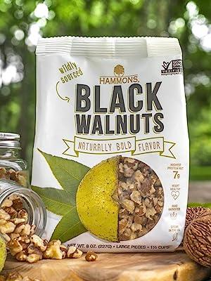 Hammons Black Walnuts American Wild Natural