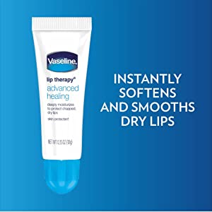Vaseline Lip Therapy Advanced Healing - Instantly softens and smooths dry lips