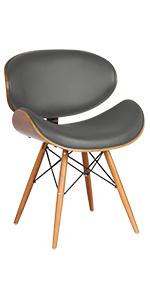 Grey, dining chair