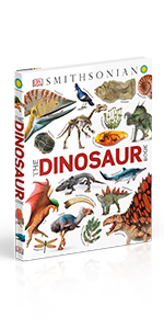 "Front cover for ""The Dinosaur Book"""