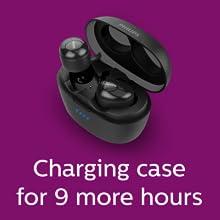Philips UpBeat SHB2505BK charging case