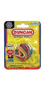 5-Pack Multi Color Duncan Yo Yo String 3276MC