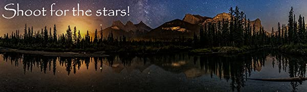 learn night photography, instruction, techniques, class, astrophotography, Banff National Park