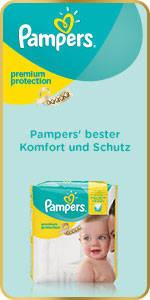 Pampers Premium Protection New Baby Windeln, Gr. 2 Mini (3-6 kg), Mona...