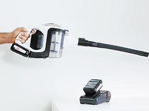 Bosch BBS1224 Unlimited Serie | 8 Aspirador sin cable, incluye 2 baterías extraíbles, 18 V, color blanco: 534.31: Amazon.es: Hogar