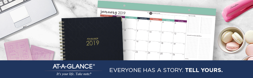 AT-A-GLANCE 2019 Daily & Monthly Planner, 7