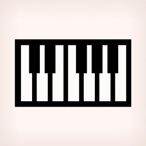61 Piano Style Keys